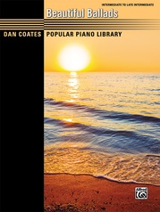Dan Coates Popular Piano Library: Beautiful Ballads