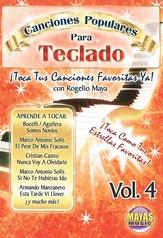 Canciones Populares Para Teclado Vol. 4