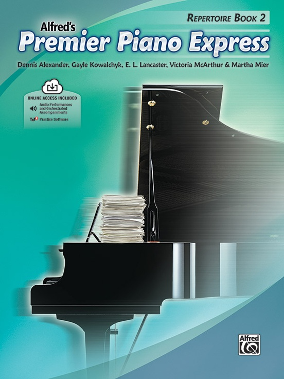 Premier Piano Express, Repertoire Book 2