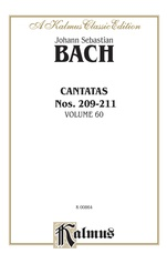Cantatas Nos. 209, Non sa che sia dolore (Soprano); 210, O holder Tag (Soprano); 210a, O angenehme Melodei (Soprano); 211, Schweight stille, plaudert nicht (Soprano, Tenor, Bass)