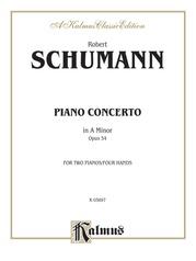 Piano Concerto in A Minor, Opus 54