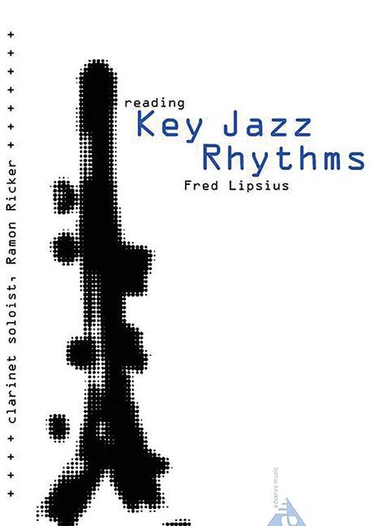 リーディング・キー・ジャズ・リズム(フレッド・リプシウス)(クラリネット)【Reading Key Jazz Rhythms】