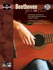 Basix® Guitar TAB Classics: Beethoven