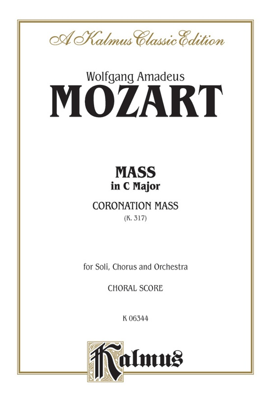 Mass in C Major (Coronation Mass, K. 317)