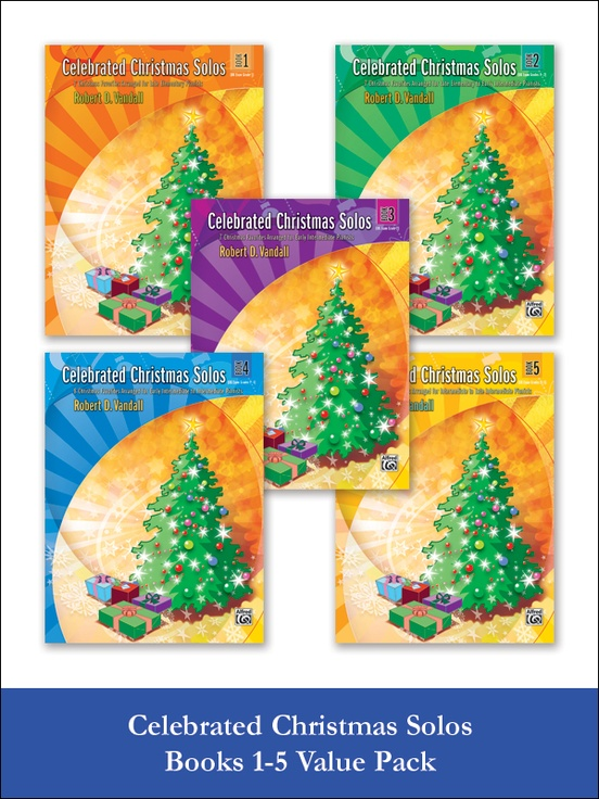 celebrated christmas solos 1 5 value pack - When Is Christmas Celebrated