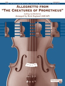 Allegretto from <i>The Creatures of Prometheus</i>