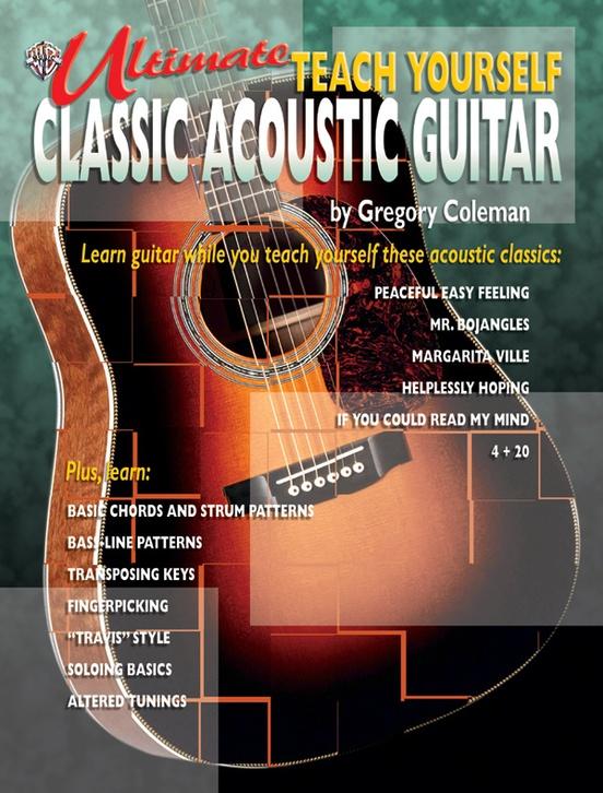 Ultimate Teach Yourself Classic Acoustic Guitar: Guitar Book & CD