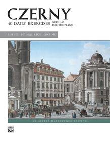 Czerny: 40 Exercises, Opus 337