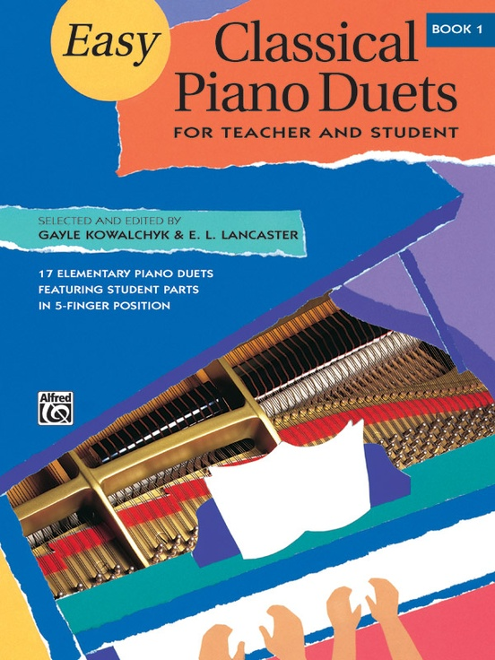 Easy Classical Piano Duets for Teacher and Student, Book 1