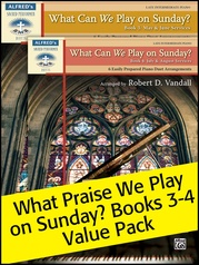 What Can We Play on Sunday? Book 3-4 (Value Pack)