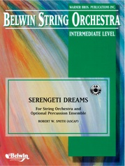 Serengeti Dreams (with Opt. Percussion Ensemble)