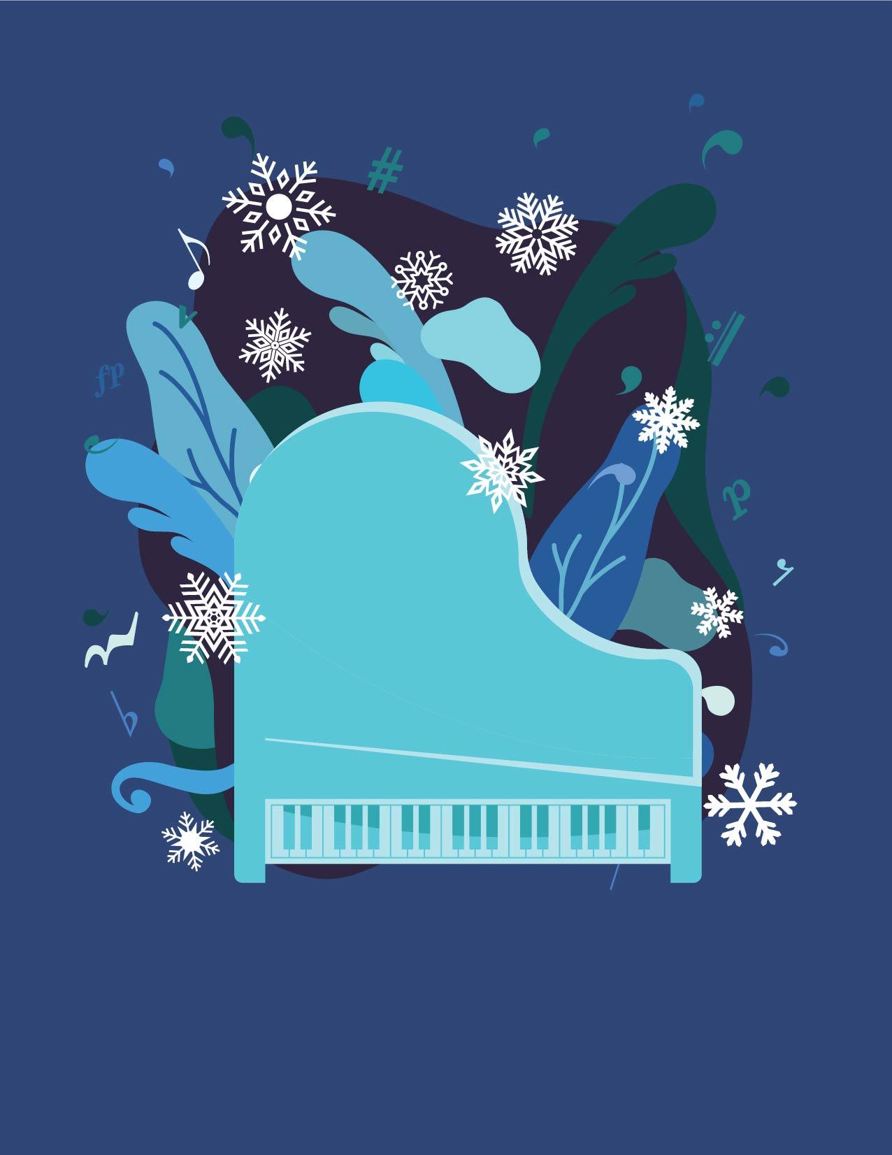 Piano Holiday Music