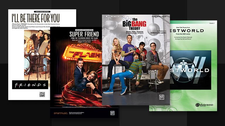 Warner Bros. TV Sheet Music