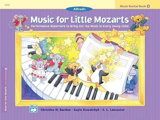 Music for Little Mozarts Recital Books