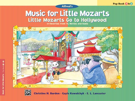 Music for Little Mozarts Supplementary Books