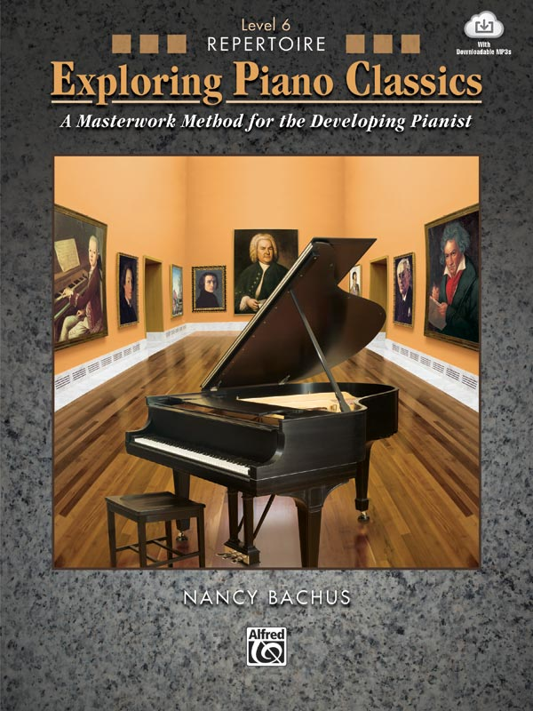 Exploring Piano Classics Level 6 cover