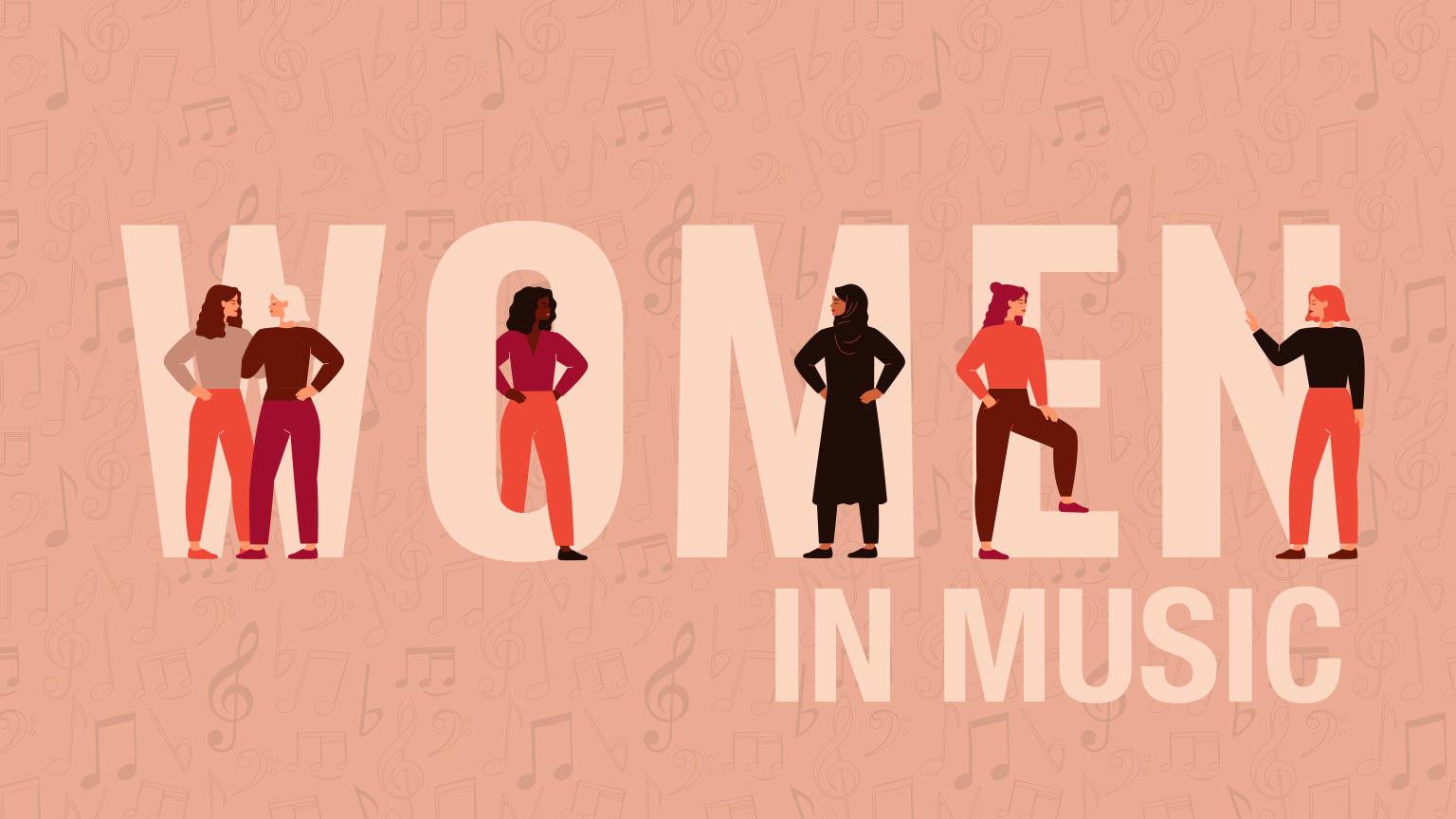 Music to Celebrate Women's History Month