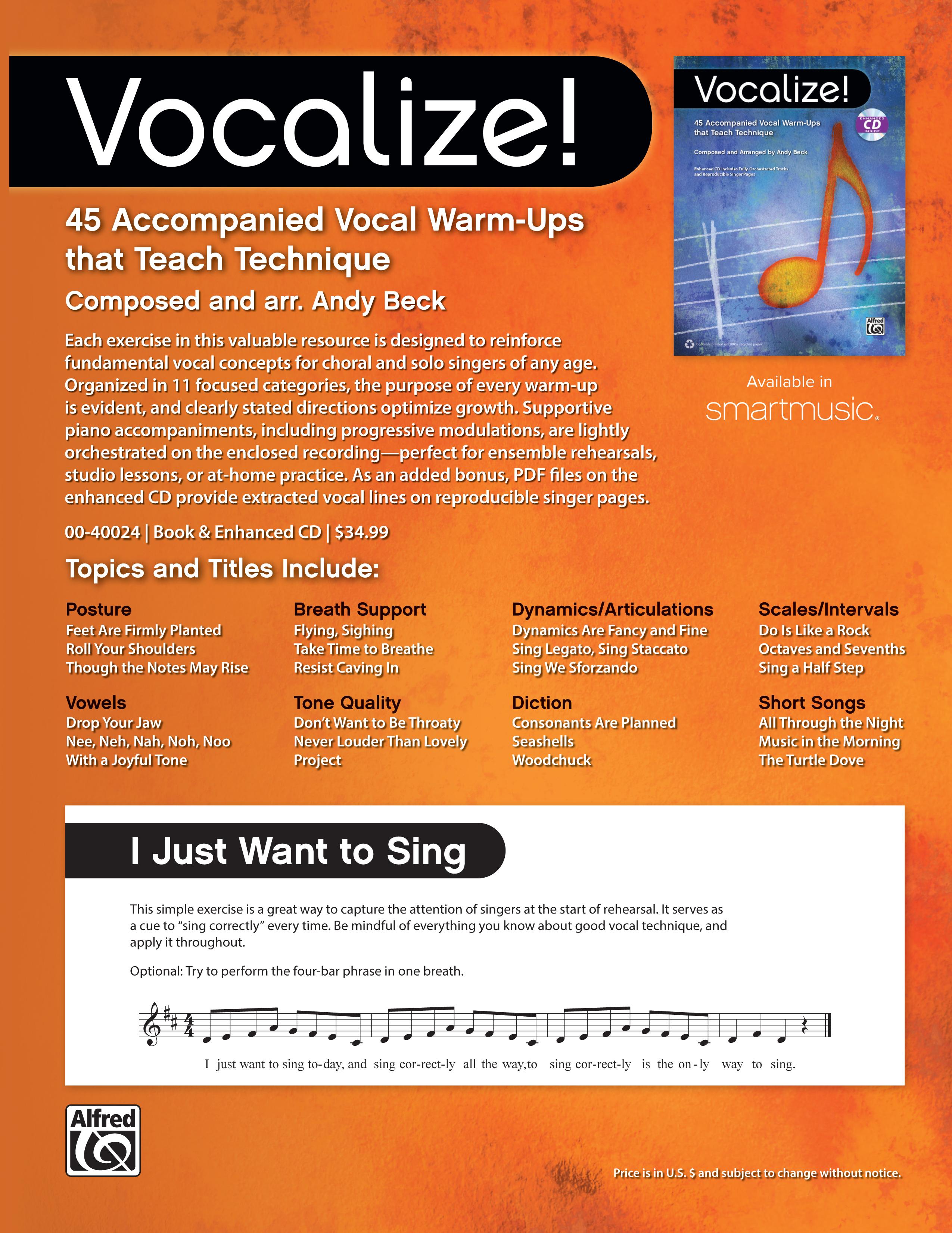 Vocalize! Series