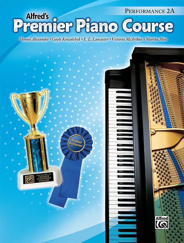 Premier Piano Course Performance Level 2a