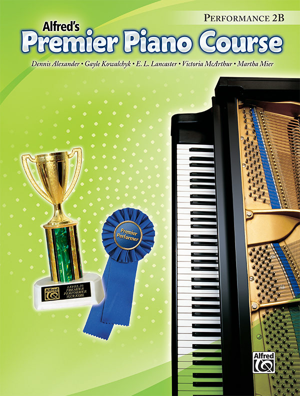Premier Piano Course Performance Level 2b