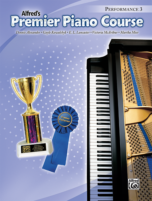 Premier Piano Course Performance Level 3