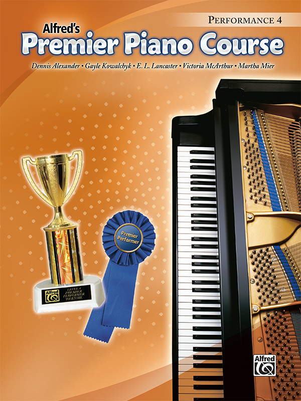 Premier Piano Course Performance Level 4