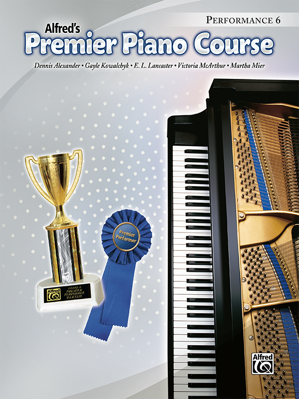 Premier Piano Course Performance Level 6