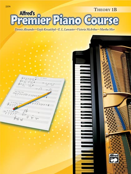 Premier Piano Course Theory Books