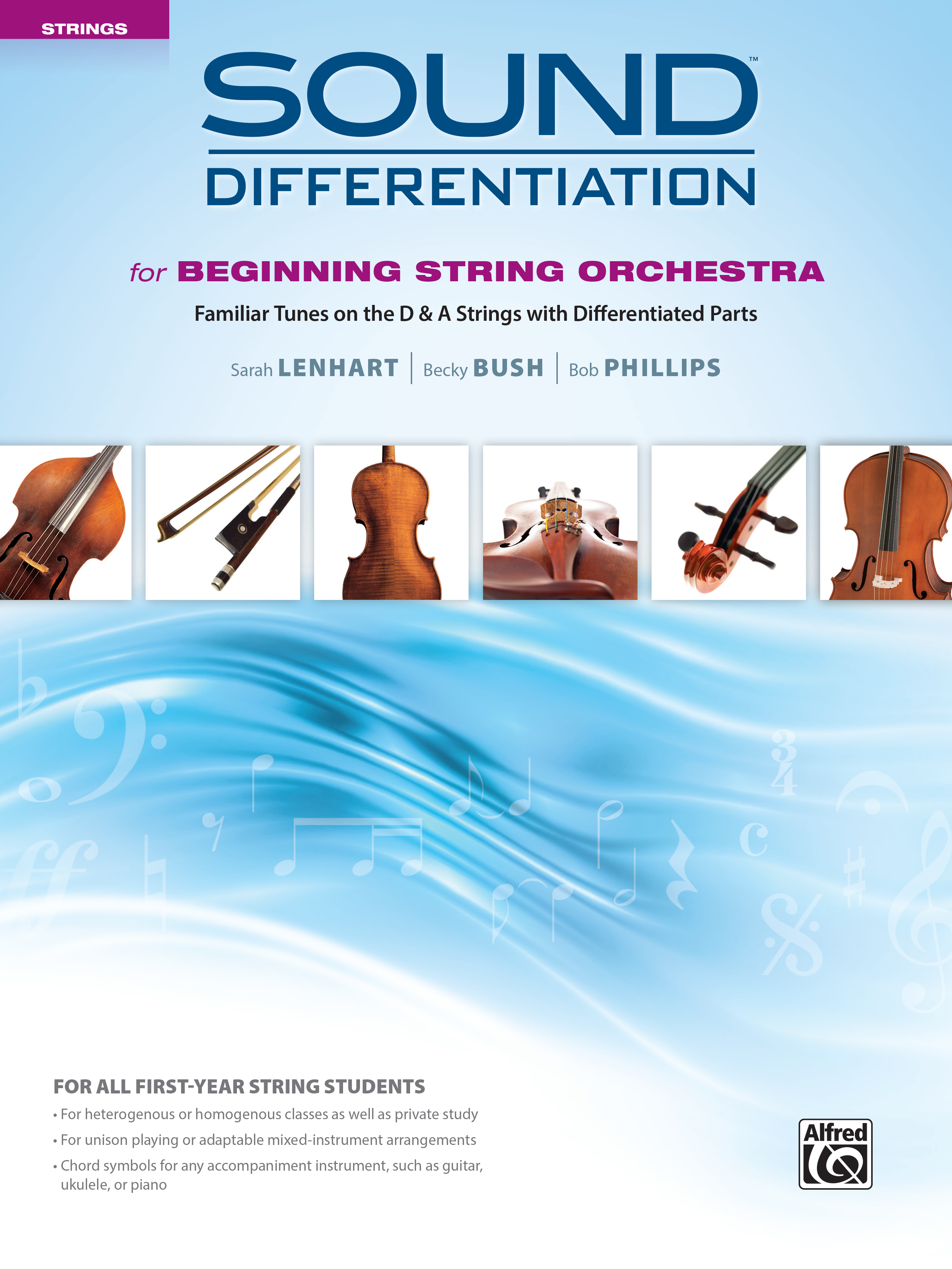 Sound Differentiation: Familiar Tunes on the D and A Strings with Differentiated Parts