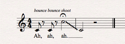 Choral Warm Up Example 1