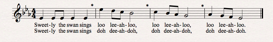 Choral Warm Up Example 3