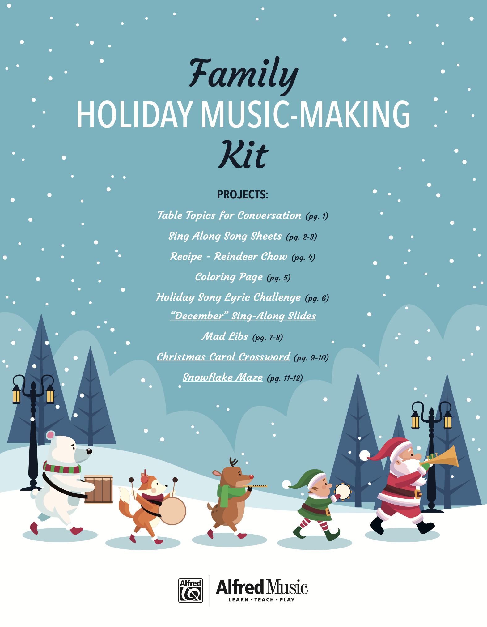 Family Holiday Music Kit Image