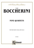 Boccherini: Nine Selected String Quartets - String Quartet