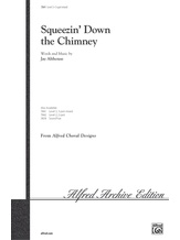 Squeezin' Down the Chimney - Choral