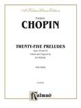 Chopin: Preludes (Ed. Eduard Mertke) - Piano