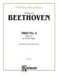Beethoven: Trio No. 4, Op. 11, in B flat Major (for piano, violin, and cello) - String Ensemble