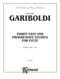Gariboldi: Thirty Easy and Progressive Studies, Volume I (Nos. 1-15) - Woodwinds