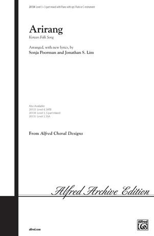 Arirang (Korean Folk Song) - Choral