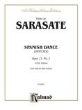 Sarasate: Spanish Dance, Op. 23, No. 2 (Zapateado) - String Instruments
