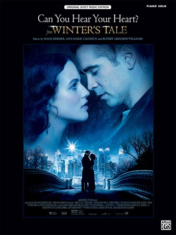 """Can You Hear Your Heart (from """"A Winter's Tale"""") - Piano"""