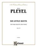 Pleyel: Six Little Duets, Op. 48 - String Ensemble