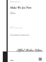 Make We Joy Now - Choral