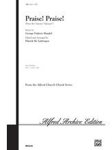 Praise! Praise! (from the oratorio <i>Solomon</i>) - Choral