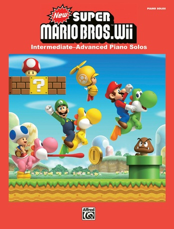 New Super Mario Bros  Wii Title Theme: Nintendo® | Piano