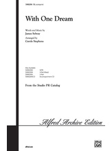 With One Dream - Choral