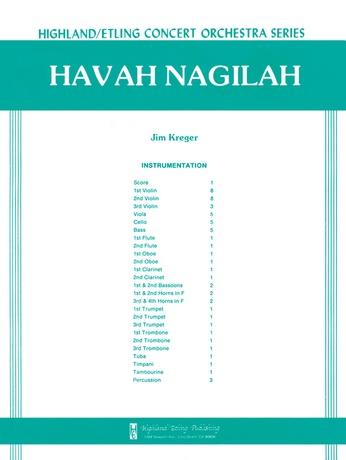 Havah Nagilah - Full Orchestra