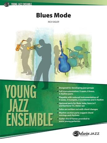 Blues Mode: E-flat Alto Saxophone: Rich Sigler | Jazz Ensemble Sheet