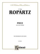 Ropartz: Piece in B flat Minor - Brass