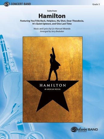 Hamilton, Suite from: B-flat Tenor Saxophone: Lin-Manuel