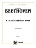 Beethoven: A First Beethoven Book - Piano